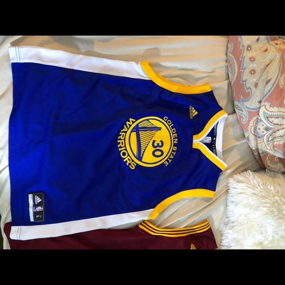 buy popular b98f3 6fec5 Boys youth Curry jersey